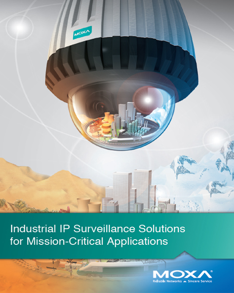 2015 Moxa IP Surveillance Solutions. cover