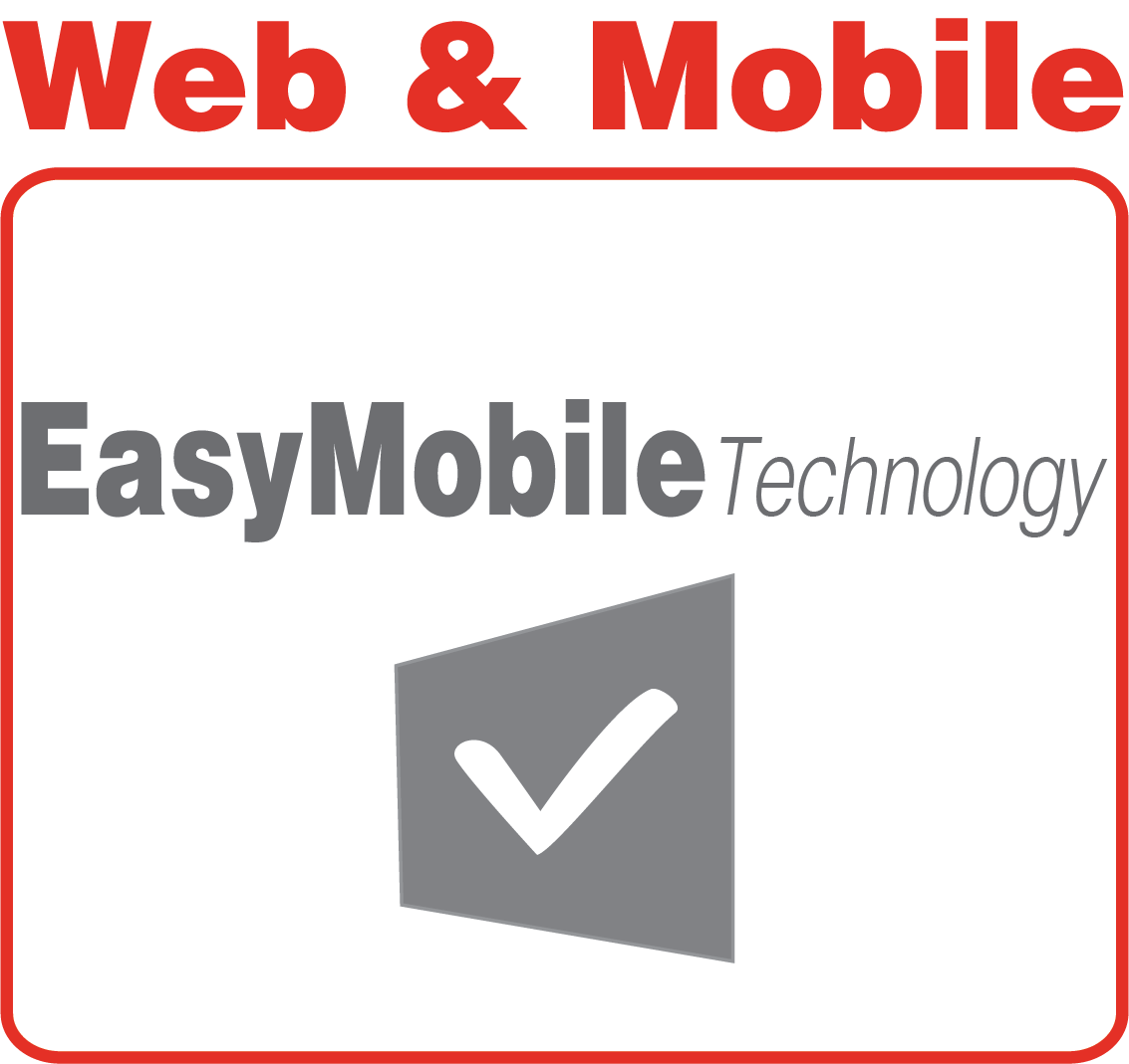 Web Mobile EasyMobile icon technology